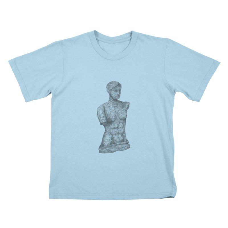 Amalgamation Kids T-shirt by Robotjunkyard