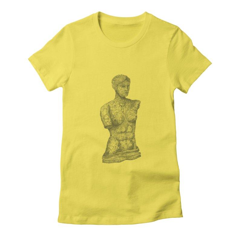Amalgamation Women's Fitted T-Shirt by Robotjunkyard