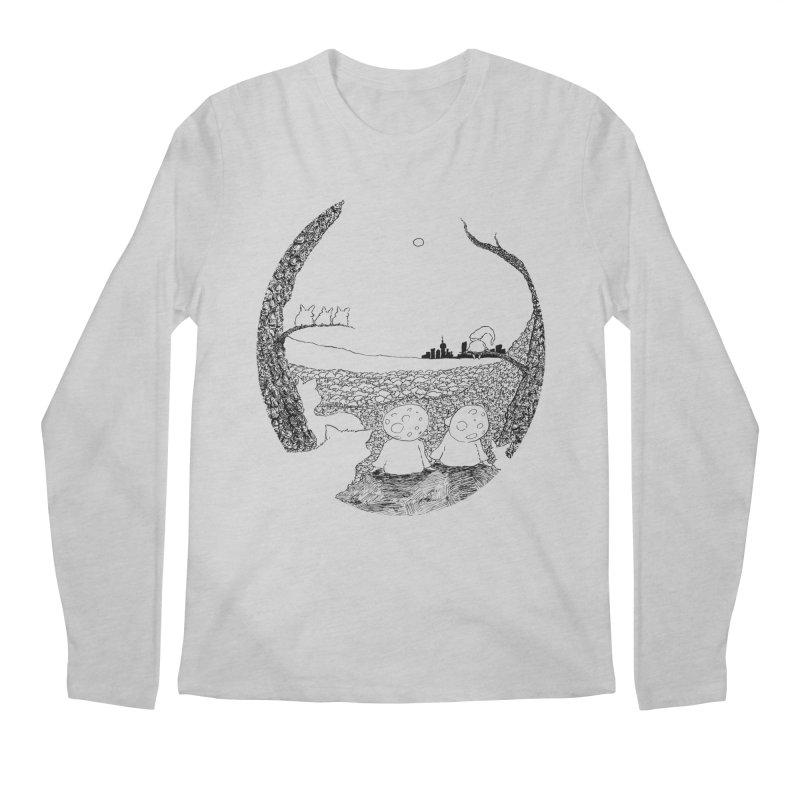 Children of the Forest Men's Longsleeve T-Shirt by Robotjunkyard