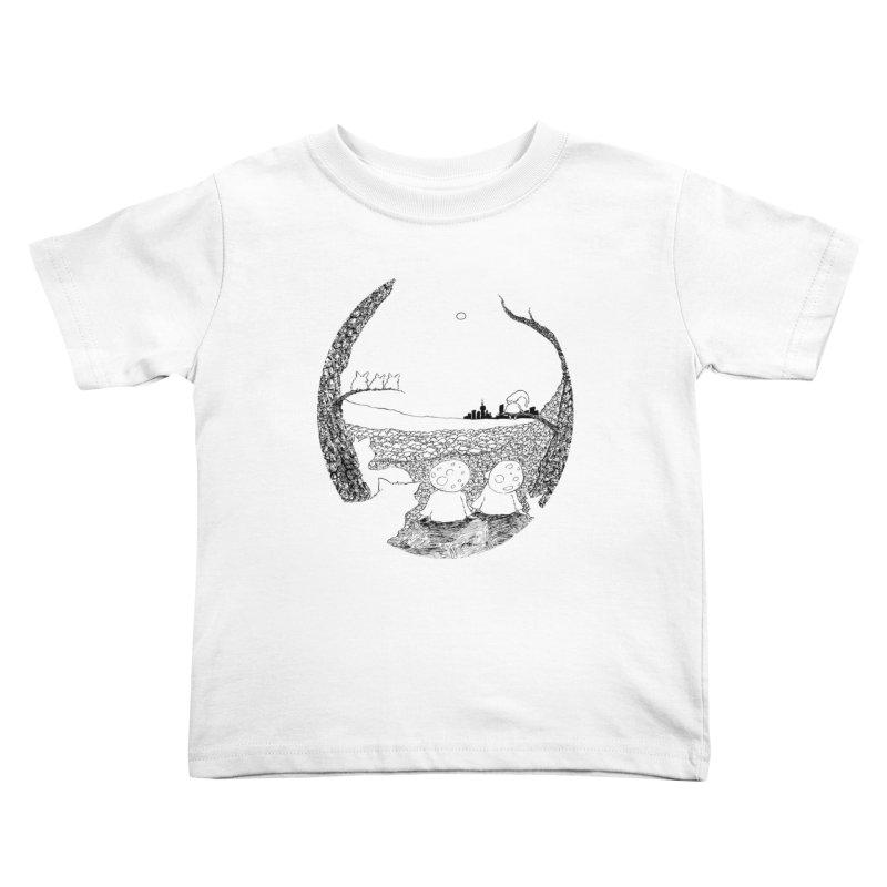 Children of the Forest Kids Toddler T-Shirt by Robotjunkyard