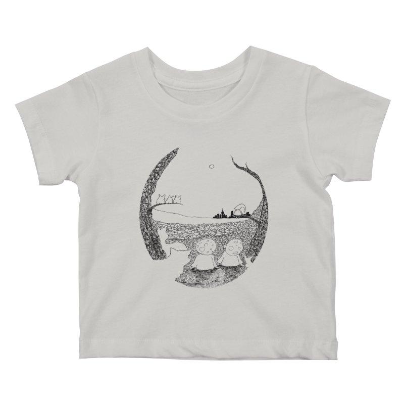 Children of the Forest Kids Baby T-Shirt by Robotjunkyard