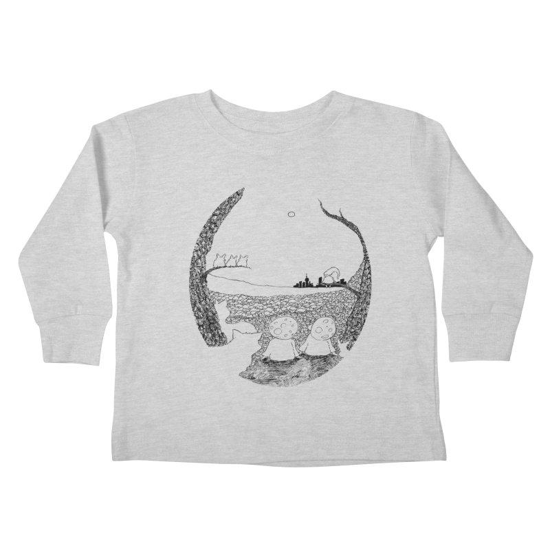 Children of the Forest Kids Toddler Longsleeve T-Shirt by Robotjunkyard