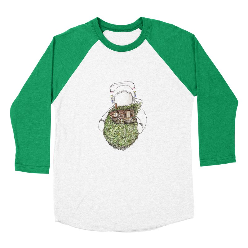 Quite Quaint Men's Baseball Triblend T-Shirt by Robotjunkyard