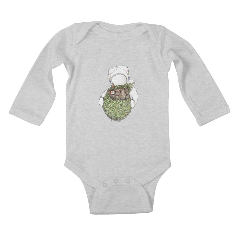 Quite Quaint Kids Baby Longsleeve Bodysuit by Robotjunkyard