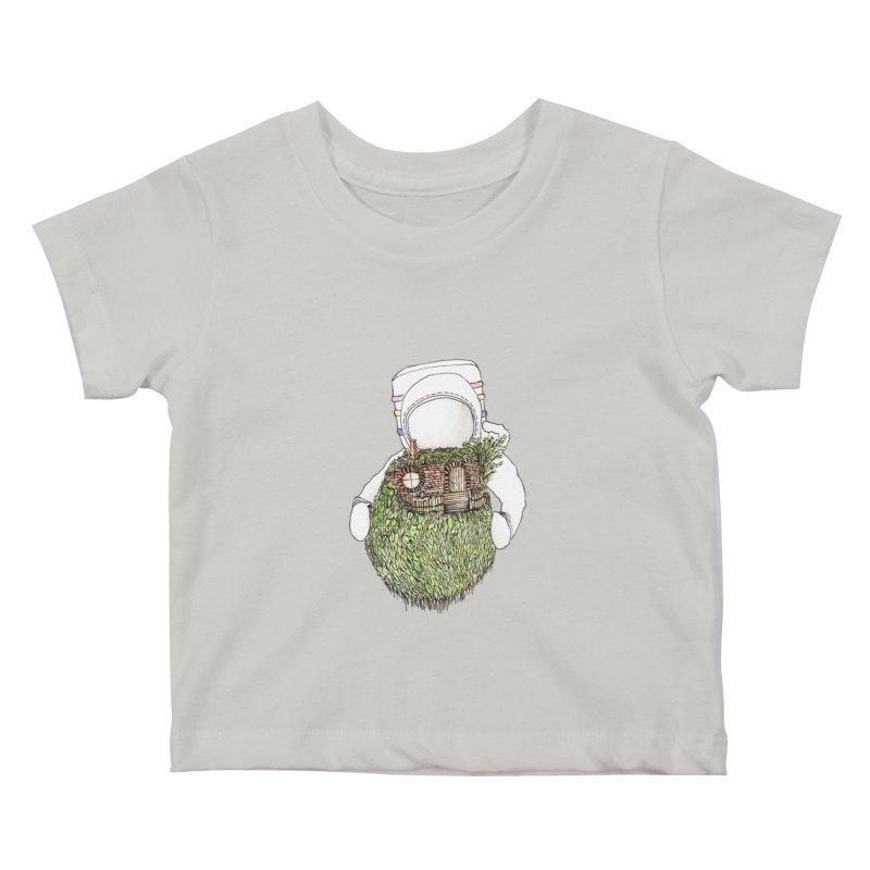 Quite Quaint Kids Baby T-Shirt by Robotjunkyard