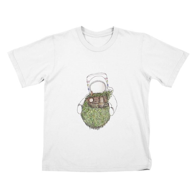 Quite Quaint Kids T-shirt by Robotjunkyard