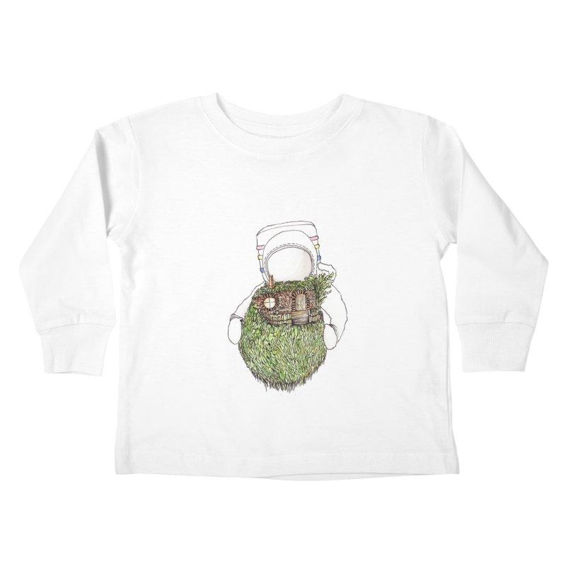 Quite Quaint Kids Toddler Longsleeve T-Shirt by Robotjunkyard