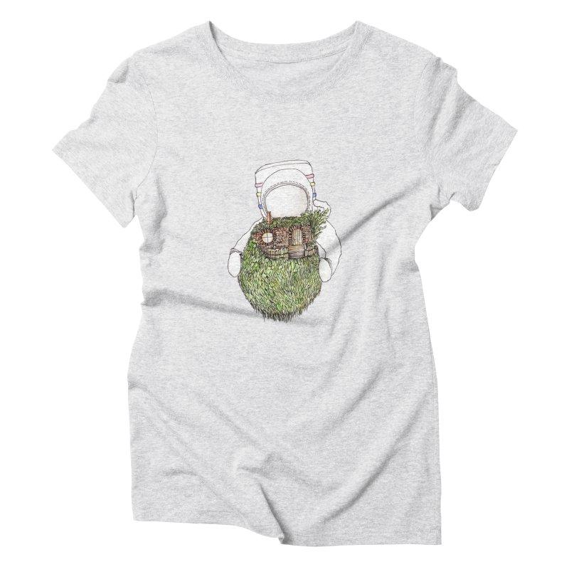 Quite Quaint Women's Triblend T-shirt by Robotjunkyard