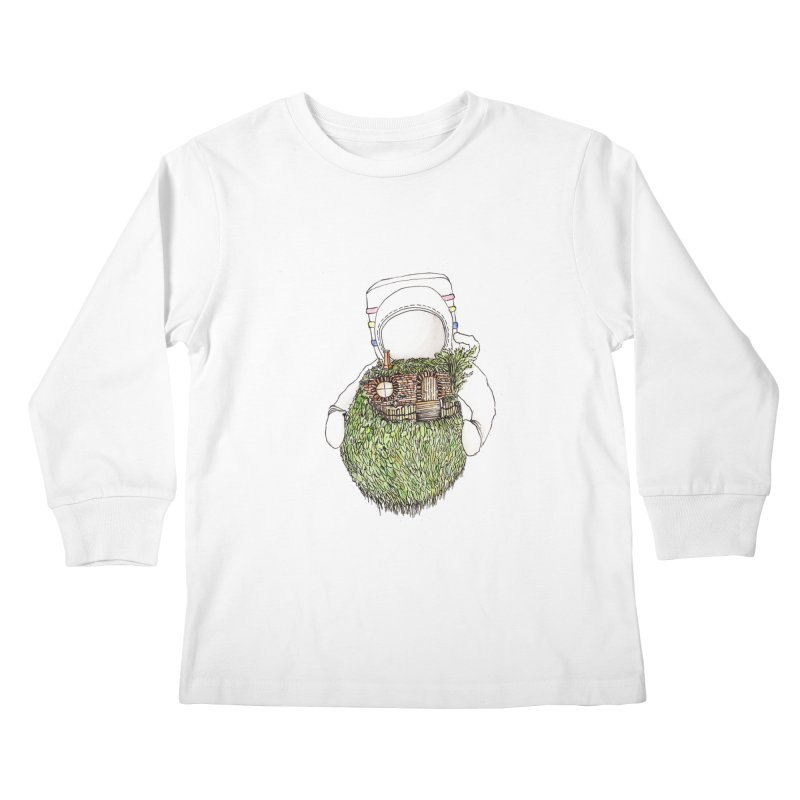 Quite Quaint Kids Longsleeve T-Shirt by Robotjunkyard