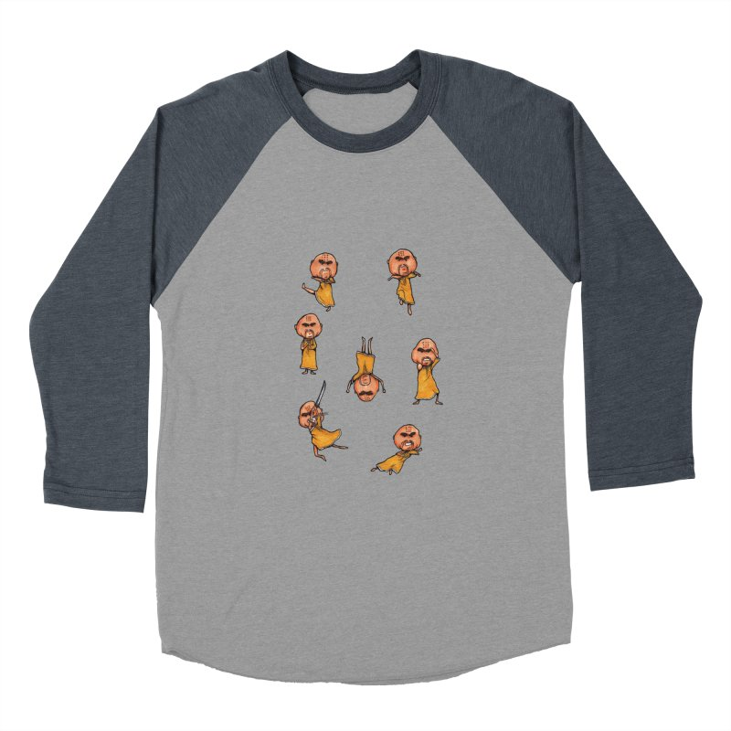 Shaolin Training Women's Baseball Triblend T-Shirt by Robotjunkyard