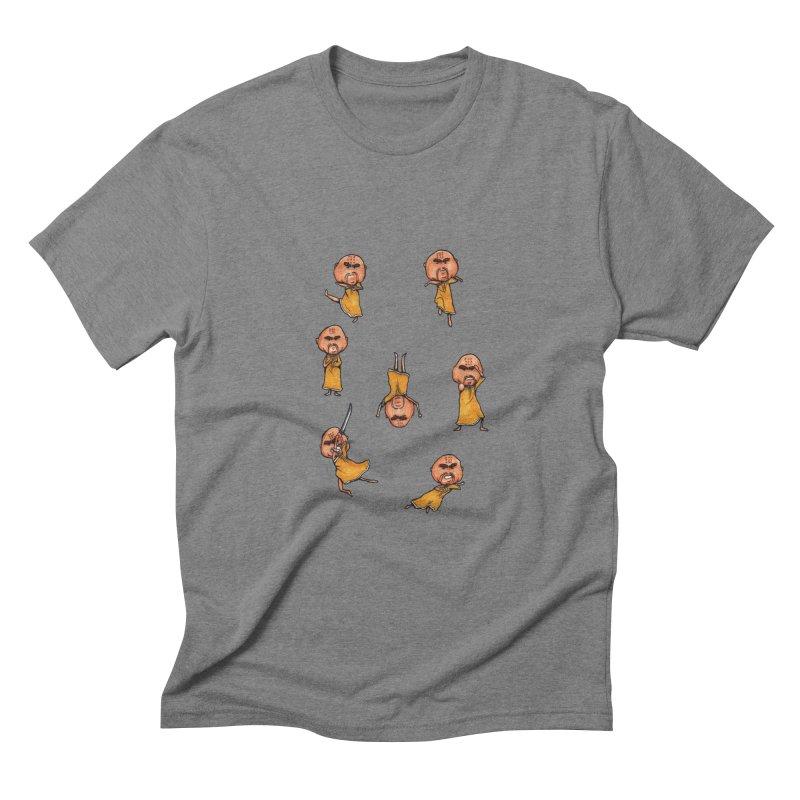 Shaolin Training Men's Triblend T-shirt by Robotjunkyard