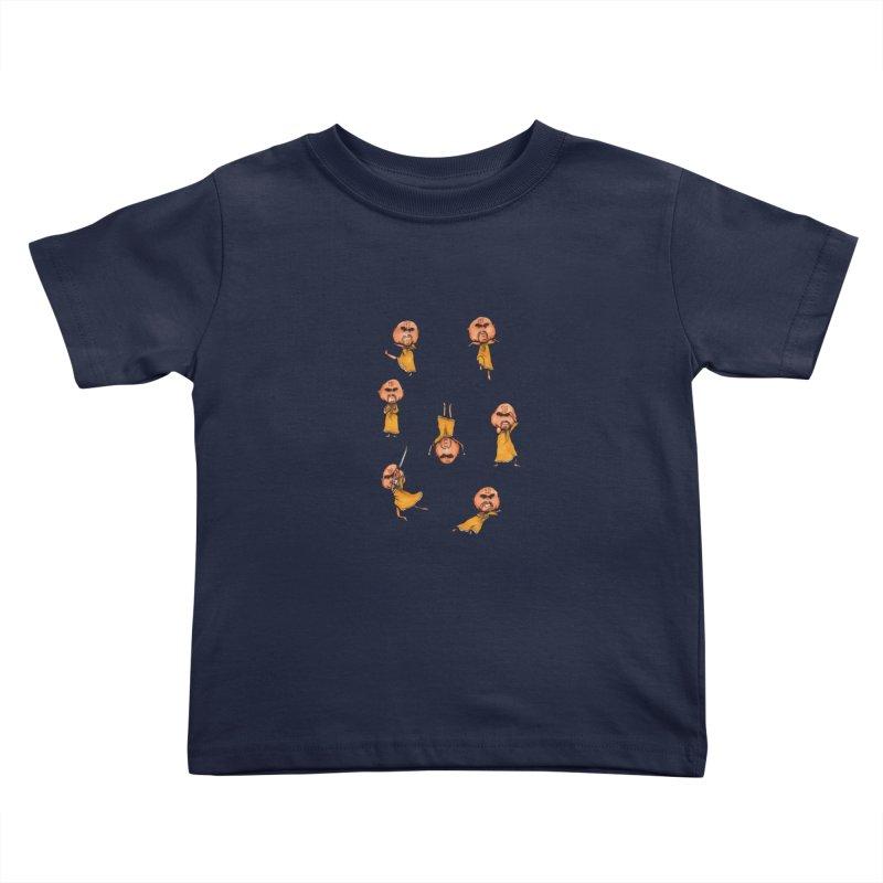 Shaolin Training Kids Toddler T-Shirt by Robotjunkyard