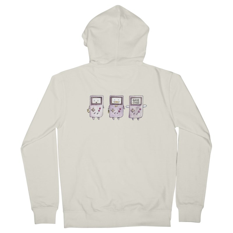 Life of a Game Boy Men's Zip-Up Hoody by Robotjunkyard