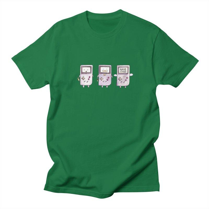 Life of a Game Boy Men's T-shirt by Robotjunkyard