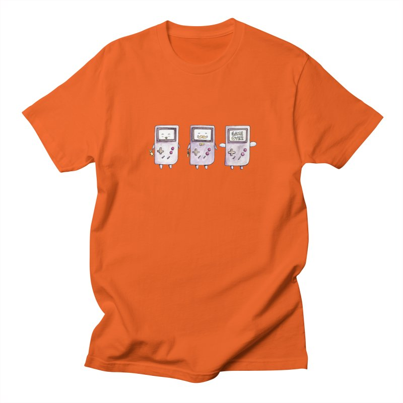 Life of a Game Boy Men's T-shirt by Robotjunkyard