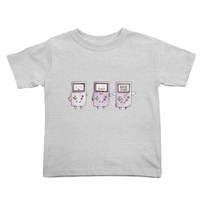 Life of a Game Boy Kids Toddler T-Shirt by Robotjunkyard