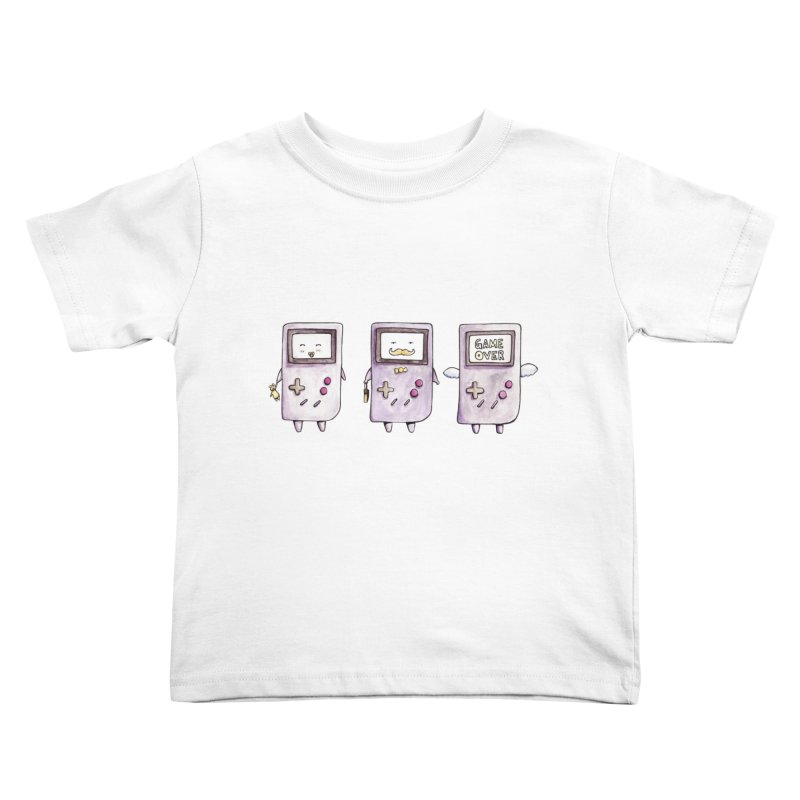 Life of a Game Boy Kids Toddler T-Shirt by Robotjunkyard