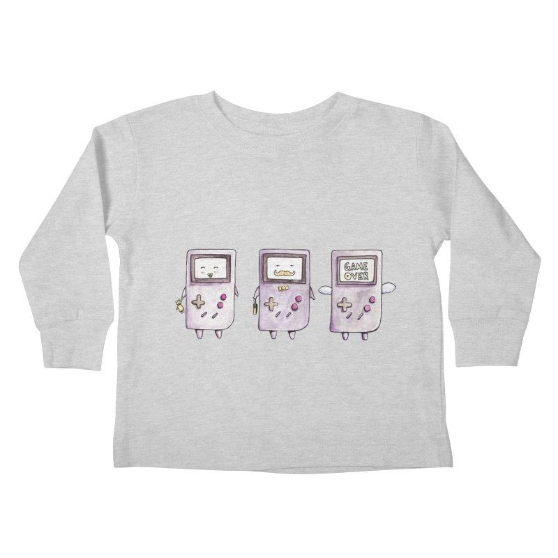 Life of a Game Boy Kids Toddler Longsleeve T-Shirt by Robotjunkyard
