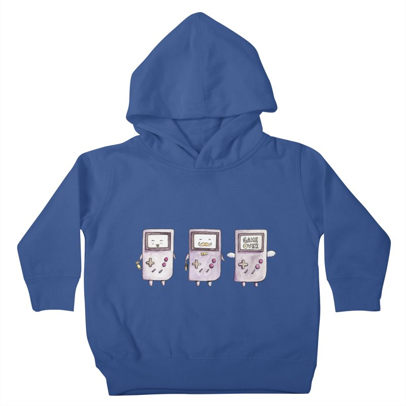 Life of a Game Boy Kids Toddler Pullover Hoody by Robotjunkyard