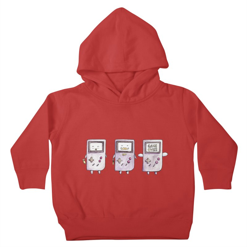 Life of a Game Boy Kids Toddler Pullover Hoody by Robotjunkyard