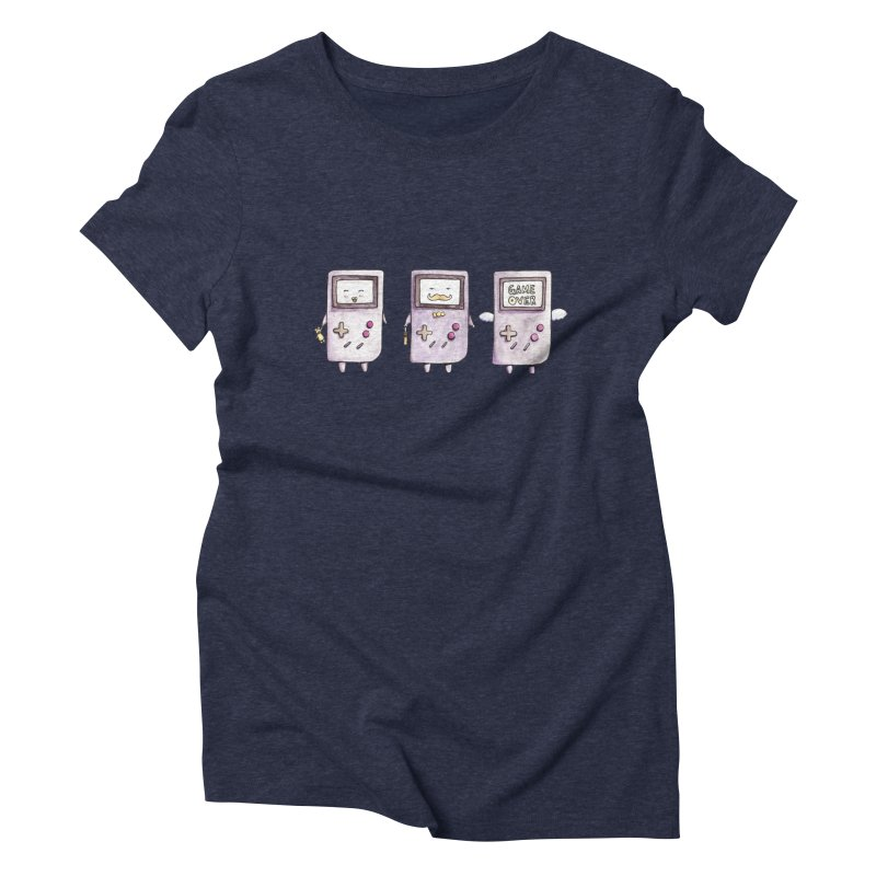 Life of a Game Boy Women's Triblend T-Shirt by Robotjunkyard