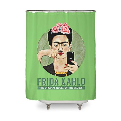 Shower Curtain Image For Frida Kahlo