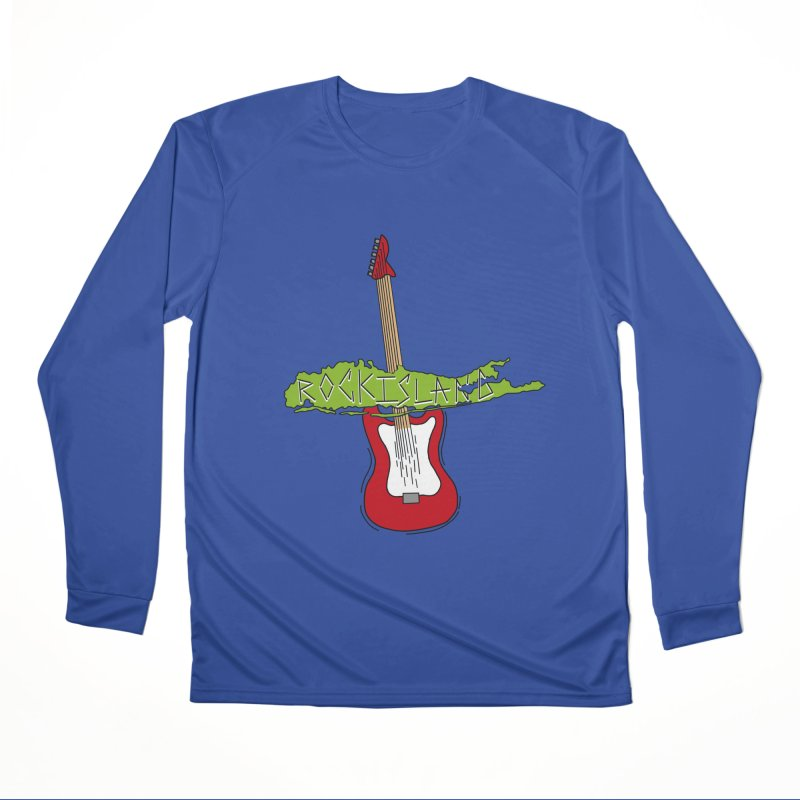 Rock Island Logo #1 Men's Longsleeve T-Shirt by RockIsland's Artist Shop