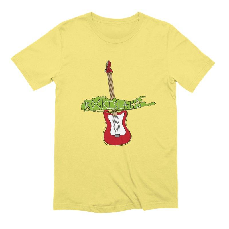 Rock Island Logo #1 Men's T-Shirt by RockIsland's Artist Shop