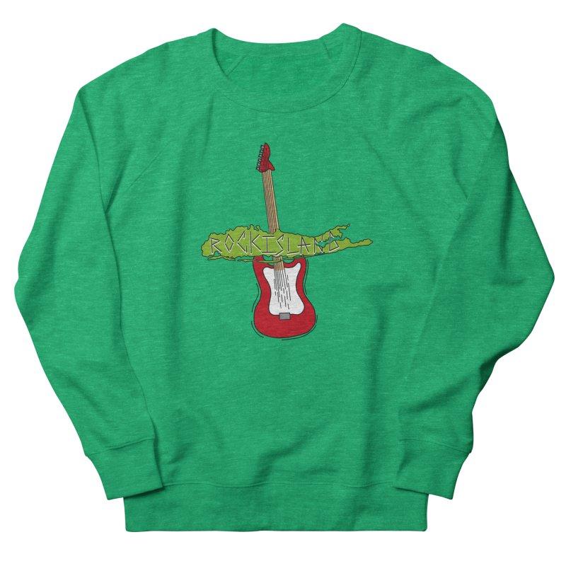 Rock Island Logo #1 Women's Sweatshirt by RockIsland's Artist Shop