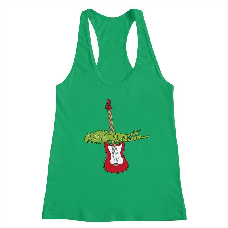 Rock Island Logo #1 Women's Tank by RockIsland's Artist Shop