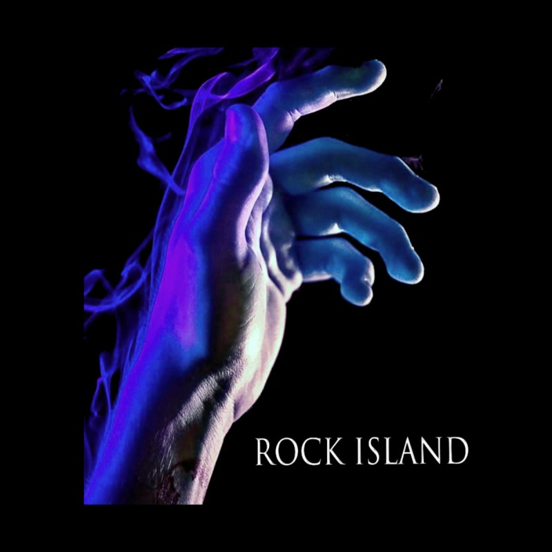 Rock Island Logo #2 Accessories Face Mask by RockIsland's Artist Shop