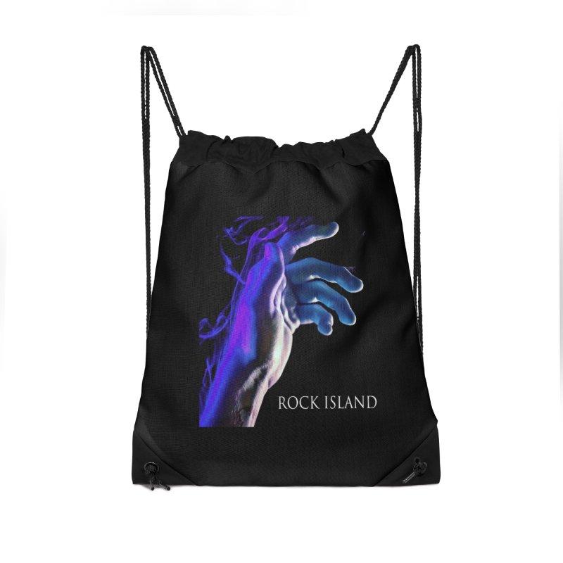 Rock Island Logo #2 Accessories Bag by RockIsland's Artist Shop