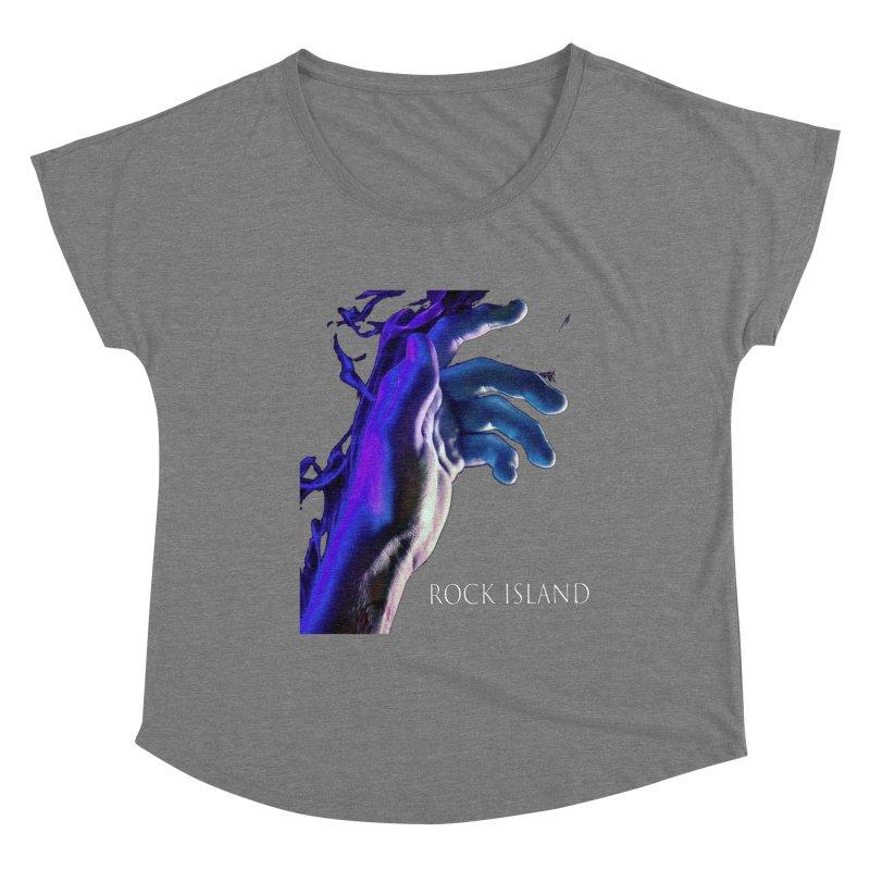 Rock Island Logo #2 Women's Scoop Neck by RockIsland's Artist Shop