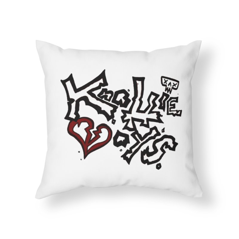 The Knottie Boys Logo #1 Home Throw Pillow by RockIsland's Artist Shop