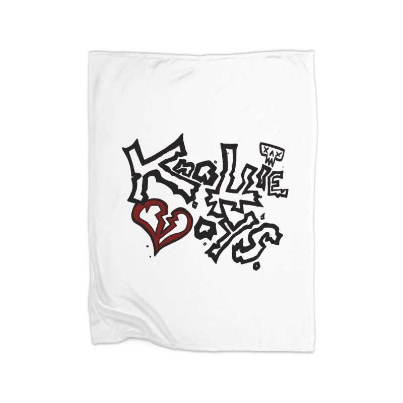 The Knottie Boys Logo #1 Home Blanket by RockIsland's Artist Shop