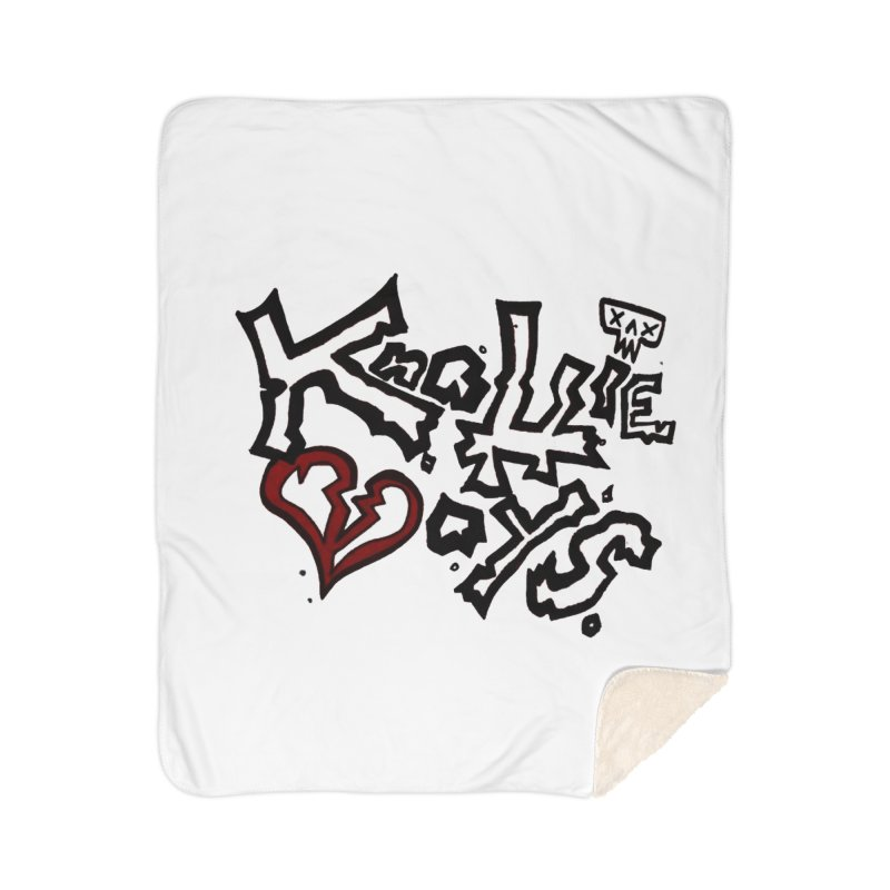 The Knottie Boys Logo #1 Home Blanket by RockIsland's Artist Shop