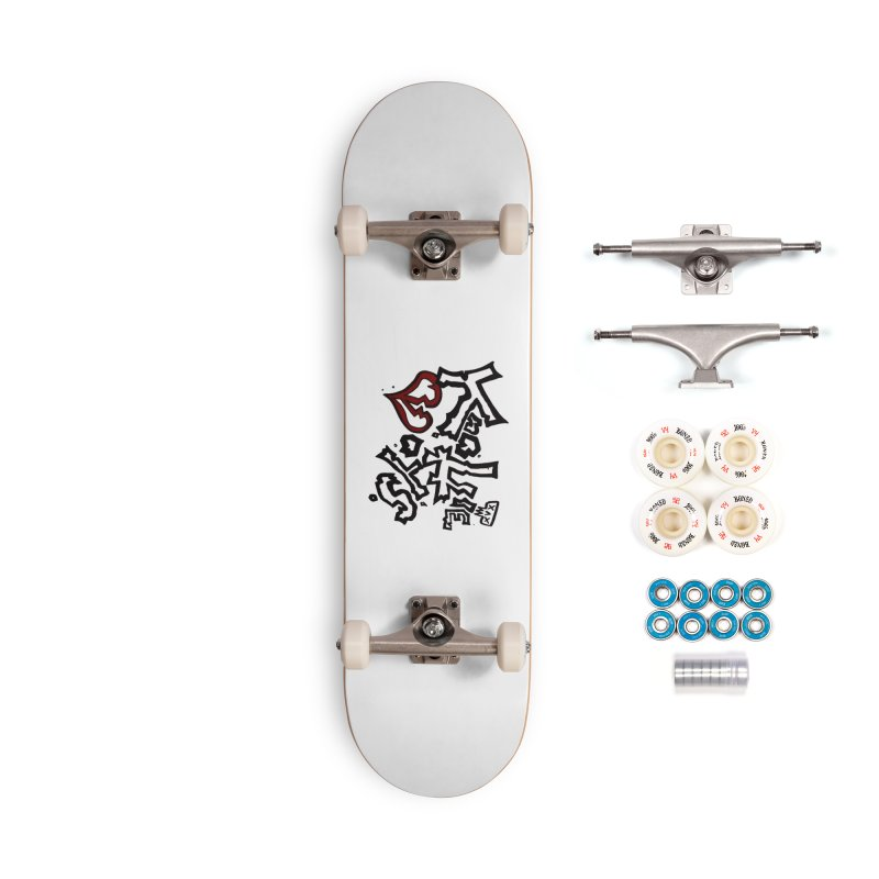 The Knottie Boys Logo #1 Accessories Skateboard by RockIsland's Artist Shop