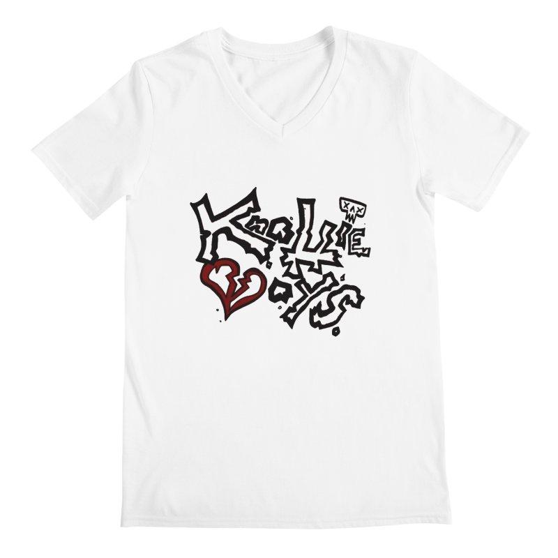 The Knottie Boys Logo #1 Men's V-Neck by RockIsland's Artist Shop