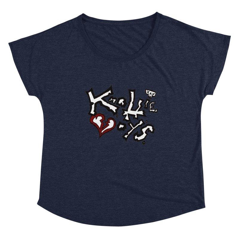 The Knottie Boys Logo #1 Women's Scoop Neck by RockIsland's Artist Shop