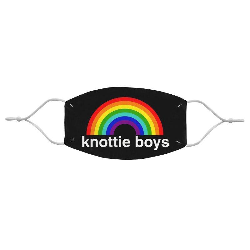 The Knottie Boys Logo #3 Accessories Face Mask by RockIsland's Artist Shop