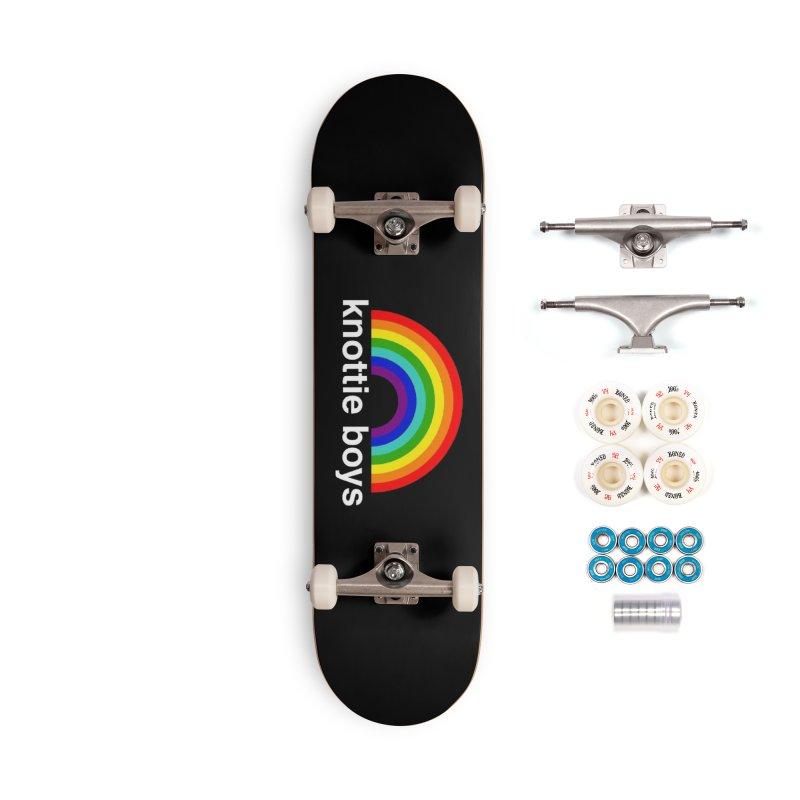 The Knottie Boys Logo #3 Accessories Skateboard by RockIsland's Artist Shop