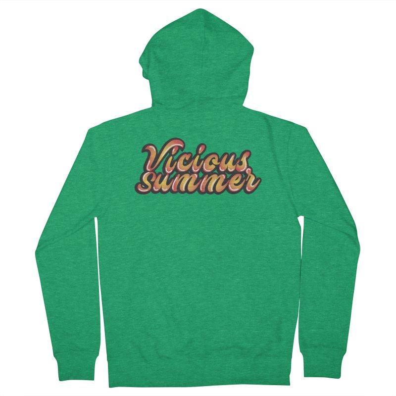 Vicious Summer Logo #1 Women's Zip-Up Hoody by RockIsland's Artist Shop