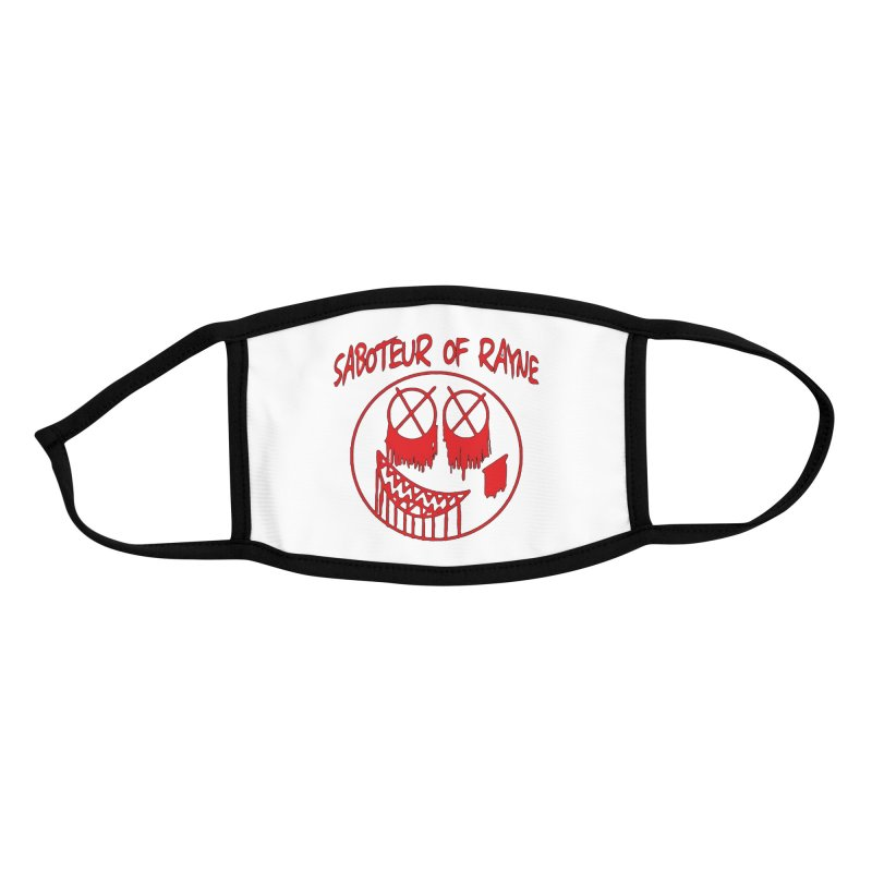 Jestin Rayne Logo #1 Accessories Face Mask by RockIsland's Artist Shop