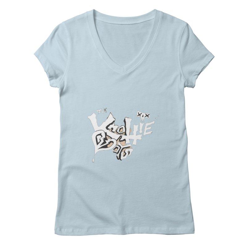 The Knottie Boys Logo #4 Women's V-Neck by RockIsland's Artist Shop