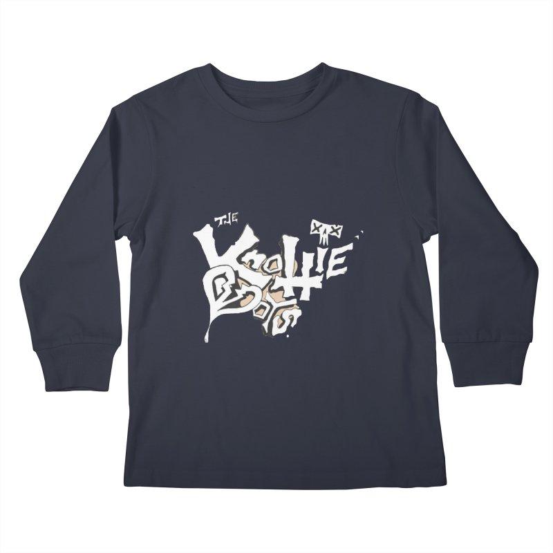 The Knottie Boys Logo #4 Kids Longsleeve T-Shirt by RockIsland's Artist Shop