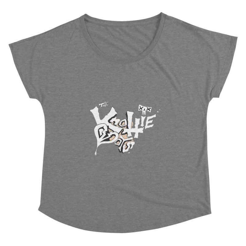 The Knottie Boys Logo #4 Women's Scoop Neck by RockIsland's Artist Shop