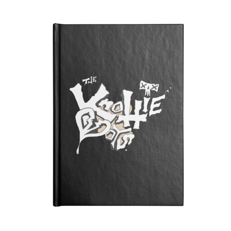 The Knottie Boys Logo #4 Accessories Notebook by RockIsland's Artist Shop