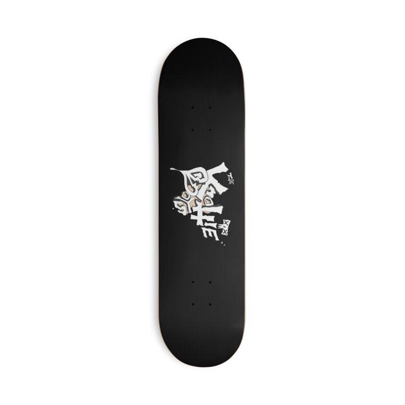 The Knottie Boys Logo #4 Accessories Skateboard by RockIsland's Artist Shop