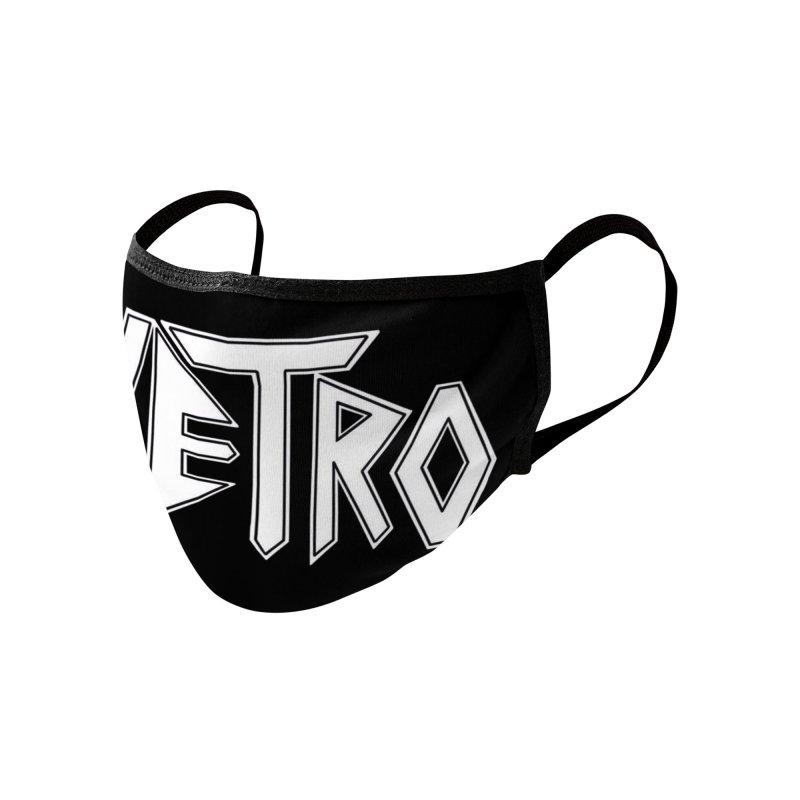 Vetro Logo #1 Accessories Face Mask by RockIsland's Artist Shop
