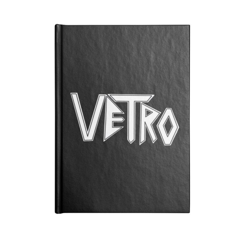 Vetro Logo #1 Accessories Notebook by RockIsland's Artist Shop